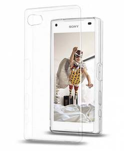 Smartphone-Hülle für Sony Xperia Z5 Compact, transparent